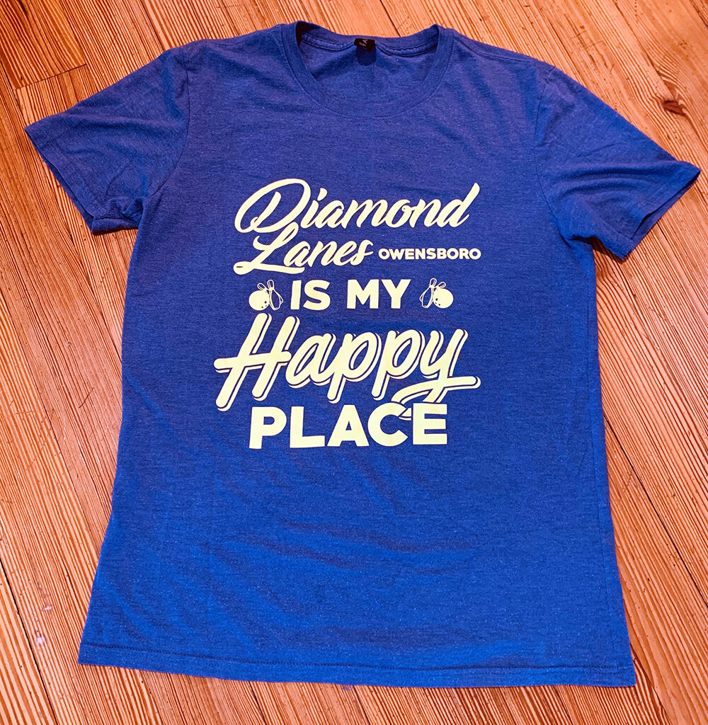 Diamond Lanes - This is my Happy Place T-shirt